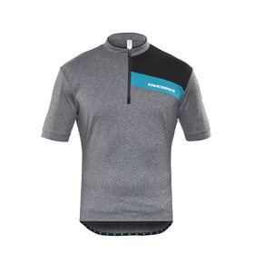 Race Face Podium Bike Jersey Shortsleeve Men grey